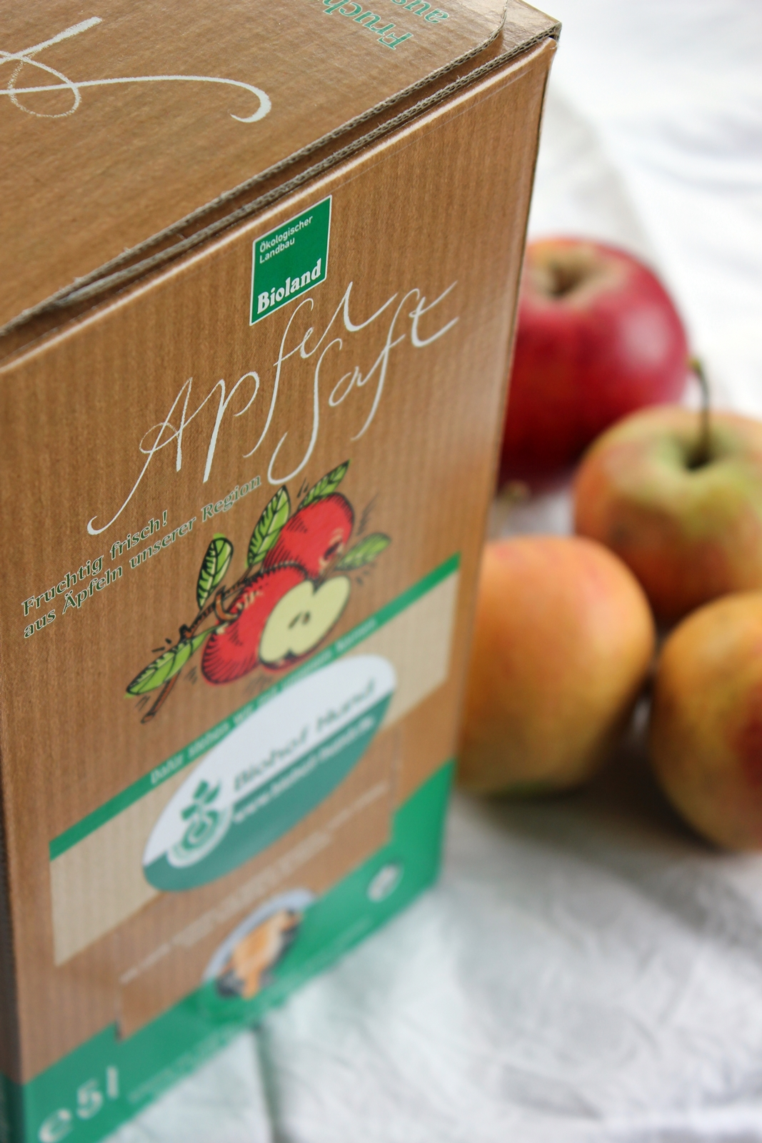 Bag in Box Apfelsaft Biozyklisch-vegan